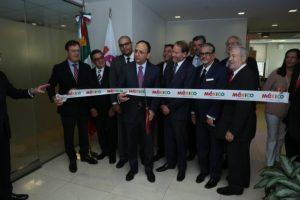 Inauguración de oficina de Visit México